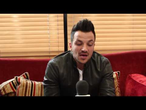 Peter Andre picking baby names and wanting more children!