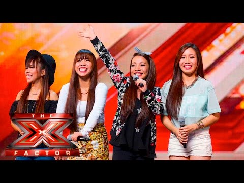 4th Power raise the roof with Jessie J hit   Auditions Week 1   The X Factor UK 2015