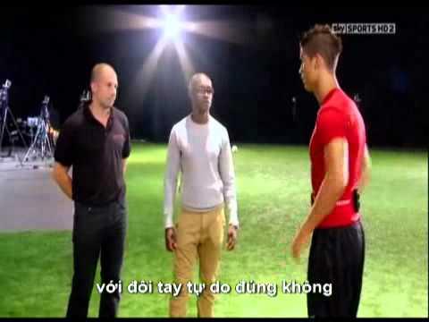 Thử thách giới hạn của Ronaldo P2 Người ngoài hành tinh   Bong da 3