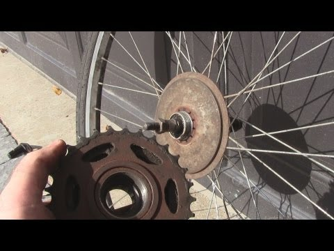 How to Change a Freewheel/Cassette on a Bicycle