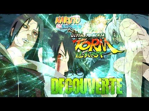 Naruto Storm 3 | Découverte Full Burst | Itachi & Sasuke VS Kabuto Sennin !