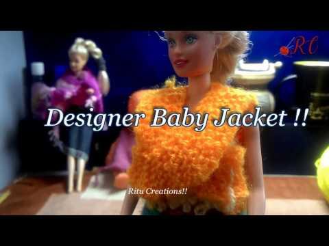 Designer Baby Jacket (डिज़ाइनर बेबी जैकेट )