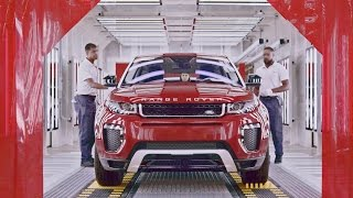 CAR FACTORY: 2017 Range Rover Evoque PRODUCTION in Brazil