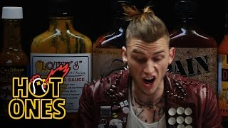 Machine Gun Kelly Talks Diddy, Hangovers, & Amber Rose While Eating Spicy Wings | Hot Ones