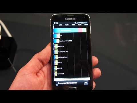 Samsung Galaxy S5 Benchmarks MWC 2014 (Greek)