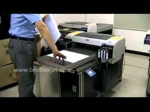BR MINI UV A2 Printer set up training