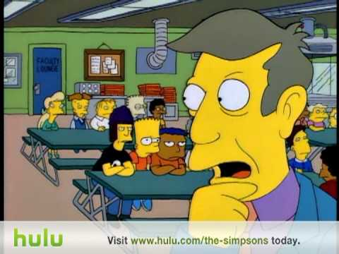 The Simpsons - Jimbo Burger      - YouTube  , Principal Skinner kills Jimbo and cooks him in a hamburger. S6:Ep6.