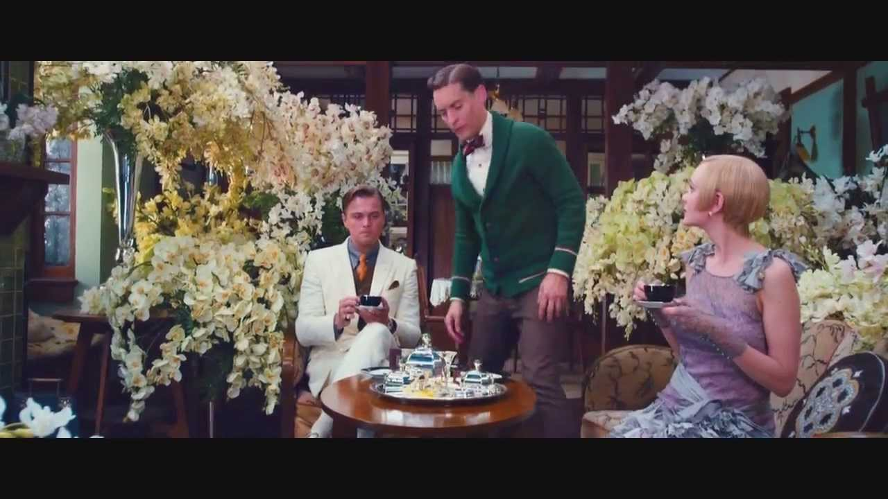 The Great Gatsby 2013 Scene - Tea Invitation (Gatsby ...