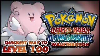 Pokémon Omega Ruby And Alpha Sapphire Walkthrough Level
