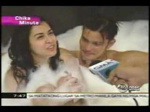 Chika Minute: Dingdong & Marian's Bathtub Scene