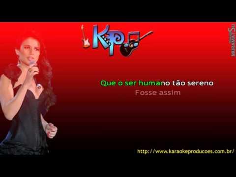 Paula Fernandes    Complicado Demais karaoke)