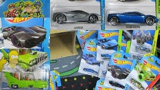 2014 M Hot Wheels Factory Sealed Case Unboxing