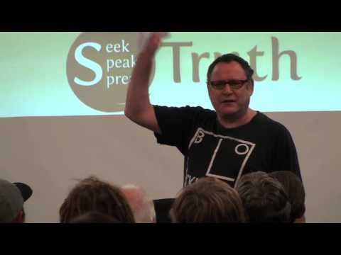 Gilad Atzmon speaks @ the 'Seek Speak Spread Truth' conference