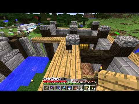 Mindcrack - S5 E2 - Mob Grinder and Stables