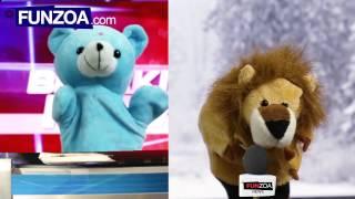 "Funny Hindi News Reader ""Junu Teddy"" From Funzoa"