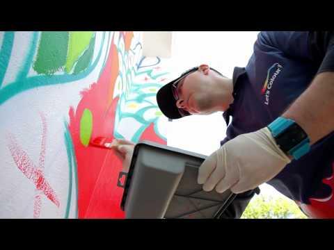 Dulux - Zagraliśmy kolorem w Poznaniu - Time lapse