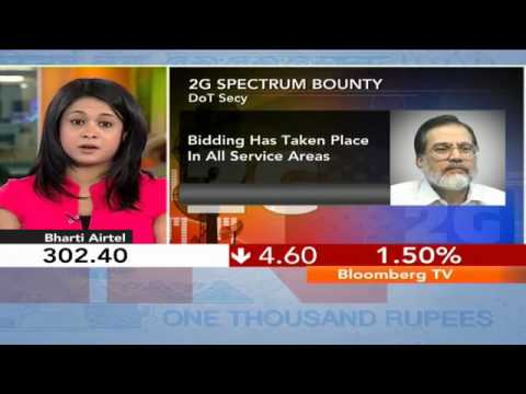 In Business- Spectrum Bids Reach Rs.58,332 Cr