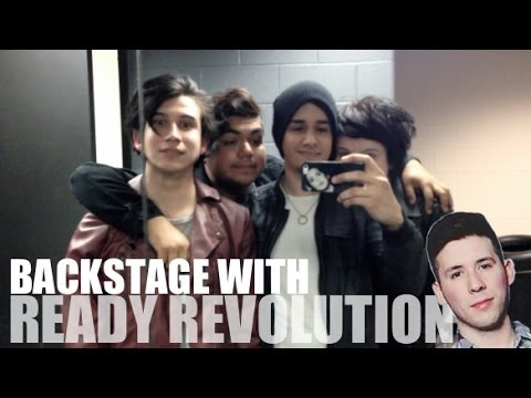 BACKSTAGE WITH READY REVOLUTION