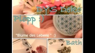 ♡ deko [quick-tipp] bad u [diy] home decoration bath - plopp, Badezimmer