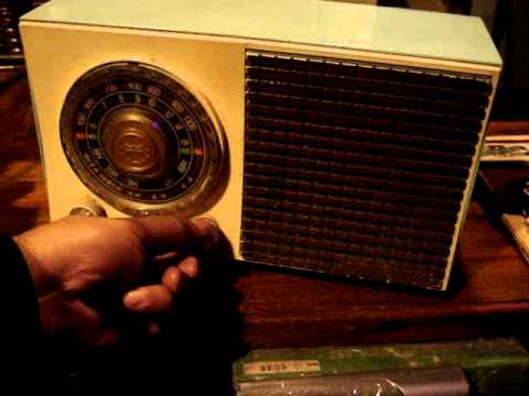 Antigua Radio General Electric Mod  642 Impecable 4959