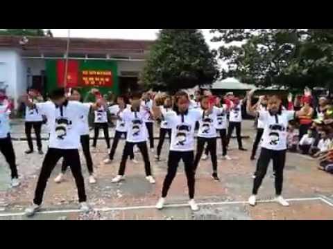 Nhảy falshmob PPAP , Gangnam style,Tiến lên Việt Nam ơi và nhảy hiện đại