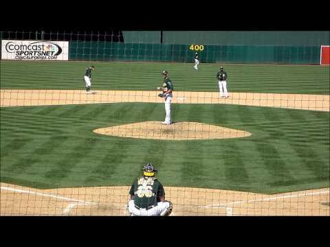 Grant Balfour, Oakland A's RHP (vs. Texas Rangers)