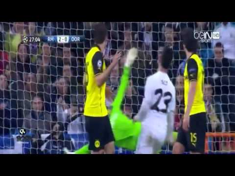 Real Madrid 3 - Borussia Dortmund 0 (02/04/14) Audio Cope