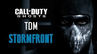 """Call of Duty GHOSTS """"STORMFRONT"""" TDM LIVE SNIPING Gameplay w/ Face Cam (COD Ghosts Multiplayer)"""