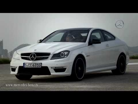 Mercedes C63 AMG coupe revealed