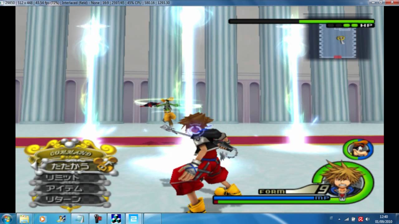 pcsx2 kingdom hearts 2 cheats