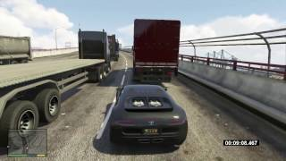 GTA 5 Bugatti SuperVeyron (Adder) Fastest Car On Highway