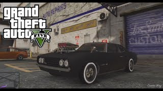 GTA V Muscle Car Tuning