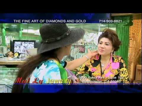 Tiem Vang Mai Ly Asian Garden Mall ( Westminster California ) Little Saigon USA.