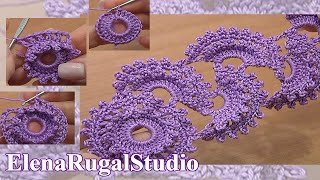 How To Crochet Tape Lace Tutorial 3 Part 2 Of 2 Crochet