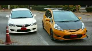 modified honda Fit videos
