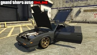GTA 5 How To Stance/Lower Your Car & Pop Hood/Trunk