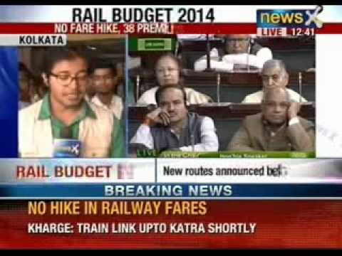 Rail budget 2014: 17 new trains announced by Mallikarjun Kharge