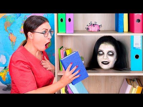 Zombie At School! / 11 DIY Zombie School Supplies