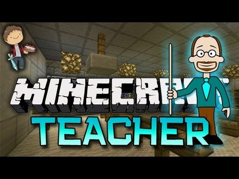 Minecraft: TEACHER Mini-Game w/Mitch & Friends - Sneaky Sneaky! (Game 2)