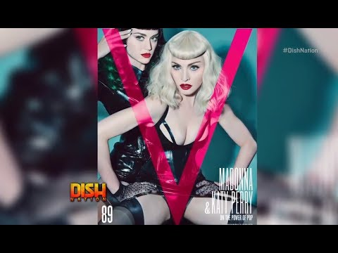 Katy Perry And Madonna Role Play On The Cover