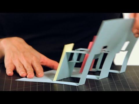 How To Make A City Pop Up Card Pop Up Cards Youtube