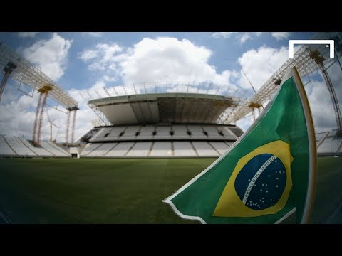 Brazil gets ready for World Cup start