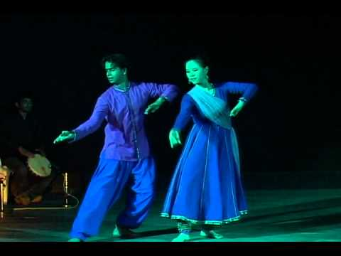 Contemporary Kathak Fusion Duet - Jin &amp; Sweekruth