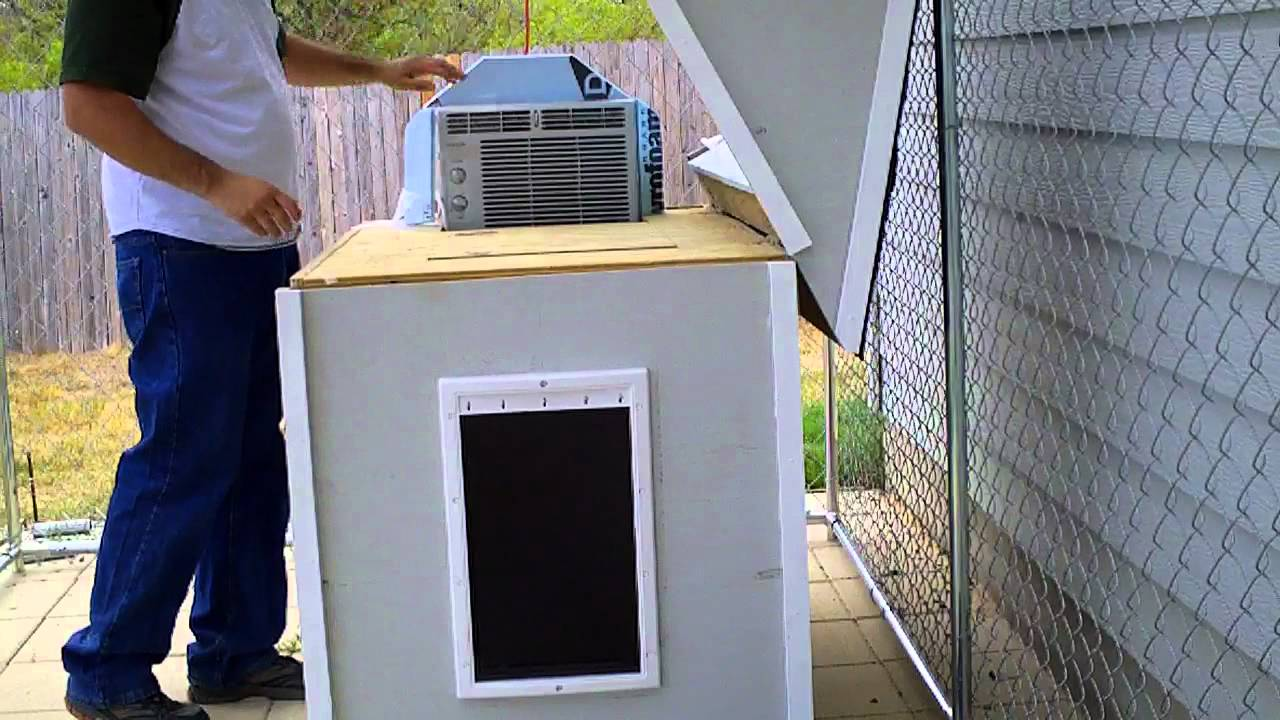 Air Conditioned Dog Kennel