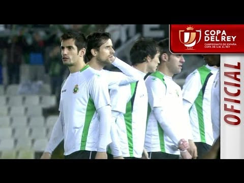 Resumen de Racing de Santander - Real Sociedad suspendido - HD Copa del Rey