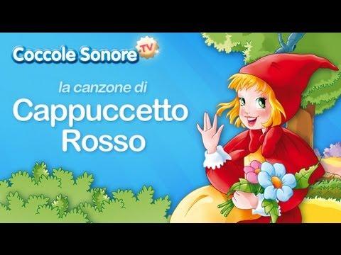 La canzone di cappuccetto rosso canzoni per bambini di for Canzoncini per bambini piccoli
