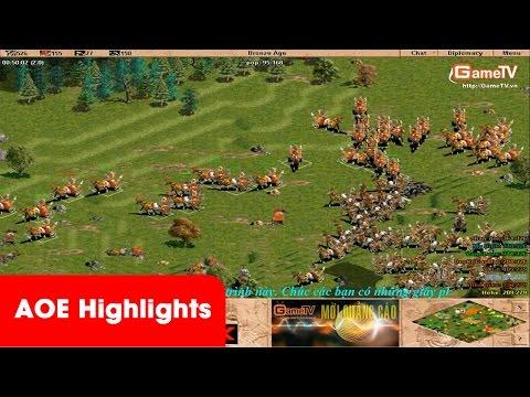 AOE Highlights, Tuấn Tiền Tỉ bình luận quá hay kèo Liên Quân vs Skyred