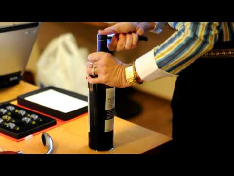 abrindo garrafa de vinho - ENOAMIGOS.COM - ABRINDO GARRAFA/PIZZATO RESERVA CABERNET SAUVIGNON 2005