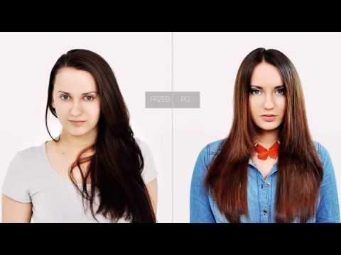 www.step4hair.com: Włosy delikatnie cieniowane