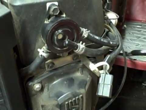 small engine repair checking  vacuum fuel pump fuel system   kohler  twin engine youtube